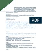 Objetivos Programa y Bibliografia