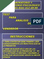 23. TEST CUAILDADES DEL VENDEDOR.pps