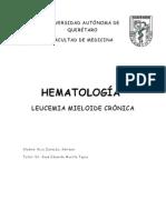 Leucemia Mieloide Crónica Trabajo Hemato