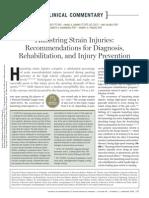 Hamstring Strain Injuries JOSPT