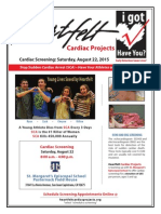 St. Margaret's Heartfelt Cardiac Screening 8/22/15