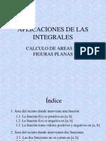 Aplicaciones de Integrales Areas Planas