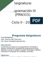 Unidad 1A Introducción a La POO