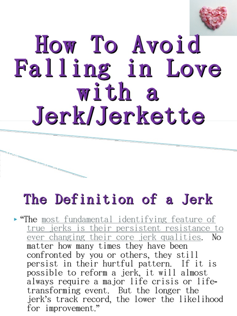 how to avoid dating a jerk | nonverbal communication | romance (love)