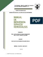 Manual de Bienvenida Hemodialisis