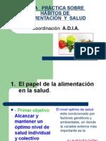GuÍa PrÁctica Sobre hÁbitos de AlimentaciÓn y