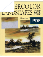 Watercolor Landscapes Step by Step