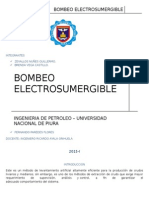 bombeo electrosumegible