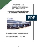 Mof Servicio de Patologa Clnica Cayetano