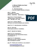 Apostila Mozart Mello MasterClass Fusion 2014