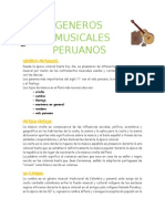 Generos Musicales Peruanos