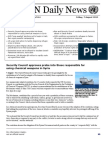 United Nations Daily News August 08 2015
