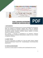 BASES CONCURSO GOURMETOUR