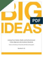 CEL Big Ideas Alignment K-12