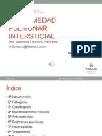 1ra Semana 2da Sesion - Enfermedad Pulmonar Intersticial - Dra. Llamoca