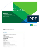 The Value of the Project Management Office