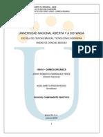 Guía de laboratorio de Química Organica
