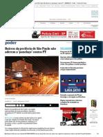 Bairros Da Periferia de São Paulo Não Aderem a 'Panelaço' Contra PT - 06-08-2015 - Poder - Folha de S