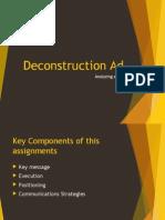 Comparative Ad Deconstruction