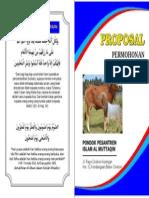 Cover Proposal Kurban