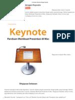 Presentasi Memukau Dengan Keynote