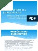 Diretrizes Diagnósticas no DSM-5