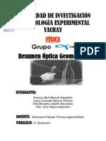 RESUMEN-OpticaGeométrica(FÍSICA)