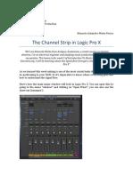 The Channel Strip in Logic Pro X - Week 3