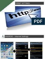 Android Manual Settings Final