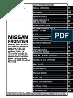 2000 Nissan Frontier VG33E   fwd