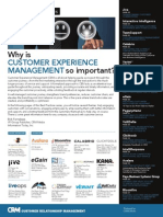 Why is Customer Experience Management So Important
