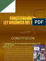 Constitucion vs Ley Organica Del Trabajo Su