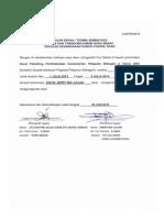 Dokumen Serah Tugas