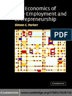 The Economics of Self-Employment and Entrepreneurship, 2004, Parker