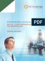 API 510 - Petrosync Course
