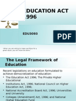 Topic 2.2 Education Act
