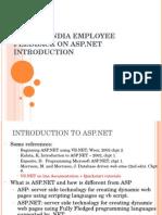 SynapseIndia Employee Feedback on ASP.net Introduction