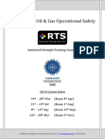 001 NEBOSH ITC Oil and Gas Syllabus Summary Delegate