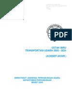 Cetak Biru Transportasi Udara 2005-2024