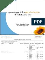 Inclusion IIC 2015 ucr