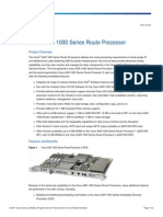 Cisco ASR 1000 Series Route Processor