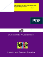 Industry Study and Overview - Chumbak - Ver 2.0