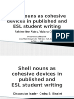Shell Nouns as Cohesive Devices in Published and.pptx Aktas and Cortes