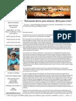 Carta Misionera Julio 2015