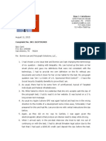 Letter to Epic Card Re Complaint of Bonnie Lee Polygraph Solutions and Supporting Documentation August 11, 2015