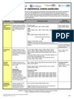Fl Provider Hedis Obstetrical Coding Guidelines 01 2013