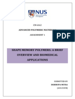 Shape memory polymers in biomedical engineering