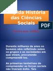 Rápida História Das Ciências Sociais