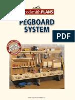 Peg Board Rack