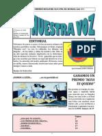 Periódico NÚMERO5 - 2009